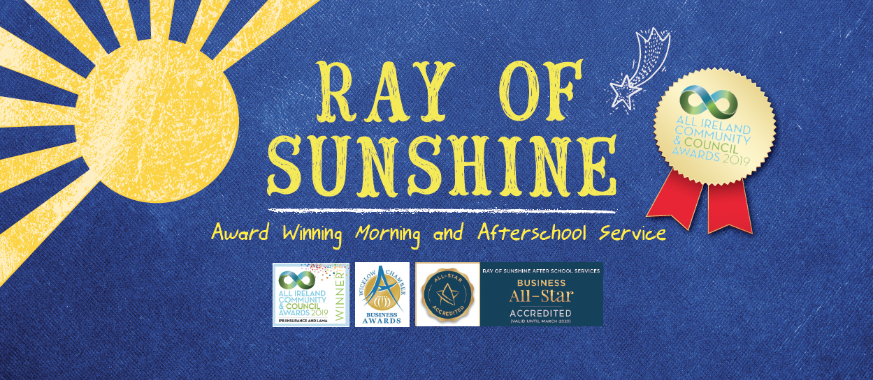 ray of sunshine afterschool programme wicklow
